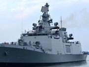 印度海上警卫队军舰访问越南岘港市