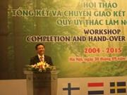 越南林业信托基金收到各组织提供的援助款项已达2890万欧元