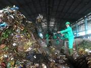 越南西北地区规模最大的垃圾处理回收厂正式落成