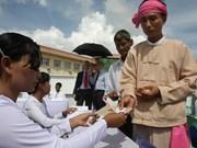 缅甸将如期举行大选
