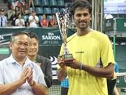 印度选手SakethMyneni夺得2015越南网球公开赛男单冠军