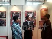 印尼国际关系展览会展出越印尼关系许多资料
