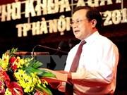 河内市委书记范光毅:决心建设河内无愧全国首都的地位