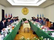 越南共产党高级代表团对柬埔寨进行正式访问