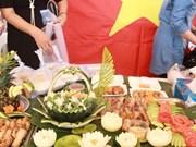 越南参加在老挝举行的2015年国际慈善展会