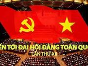 国会代表向越共十二大文件草案提供意见