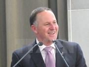 新西兰总理约翰•基即将对越南进行正式访问