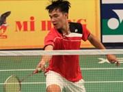 2015年马来西亚国际羽毛球竞赛:阮黄南闯入第三轮