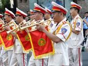 第20届世界警察音乐会在胡志明市热闹登场