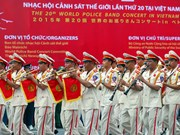第20届世界警察音乐会在胡志明市拉开帷幕