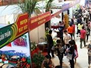 2015年越中国际贸易旅游展销会颇受游客的关注