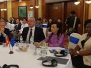 越南欧盟卫生合作20周年纪念典礼在河内举行