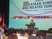 第27届东盟峰会将通过许多重要文件