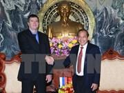 越南最高人民法院院长张和平会见俄罗斯司法部部长科诺瓦洛夫