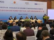 越南-欧亚经济联盟企业论坛在河内举行