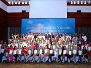 139名越南学员获得澳大利亚政府奖学金