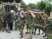 兴安省军事指挥部成功拆解一颗250公斤重的炸弹