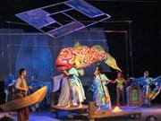 越德合作排演的话剧《渔夫和金鱼的故事》正式亮相