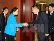 越南与朝鲜加强青年团之间的交流与友好合作关系