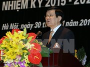 张晋创主席出席越南历史科学协会大会