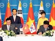 韩国总统欢迎该国国会通过越韩等FTA协定