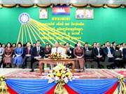 柬埔寨举行集会庆祝柬埔寨救国民族团结阵线成立37周年