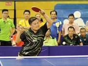 第九届亚太乒乓球老将锦标赛在胡志明市开赛