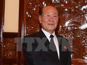 越南胡志明市领导人会见朝鲜最高检察所代表团