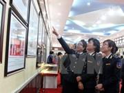 """""""越南黄沙与长沙两个群岛——历史证据和法律依据""""地图资料展在广南省举行"""