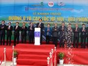 越南政府总理阮晋勇下达河内至海防高速公路通车令
