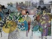 """""""越南画家眼中的韩国""""绘画比赛作品展在河内开展"""