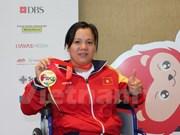 第8届东盟残疾人运动会:越南以18金19银17铜在奖牌榜上居第三位