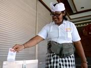 印度尼西亚举行全国地方选举