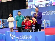 第八届东南亚残疾人运动会落幕:越南残疾人体育代表团位居奖牌榜第四