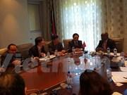 越南国会与南非国民议会加强对外合作