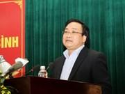 越南政府副总理黄忠海接触太平省选民