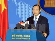 越南外交部发言人:越南要求中国台湾立即停止侵犯越南主权的行为