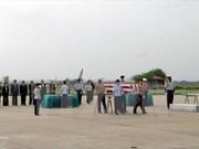越战美军遗骨返国仪式在河内举行