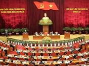越共第十一届中央委员会第十三次全体会议在河内开幕