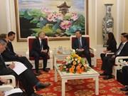 越南公安部副部长会见欧盟对外行动署亚太总司代总司长