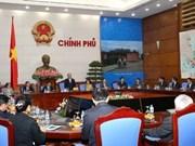 """阮春福副总理会见赴越参加""""沿着凯山•丰威汉主席足迹之旅""""的老挝人民代表团"""
