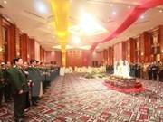 越南国防部举行招待会 纪念越南人民军成立71周年