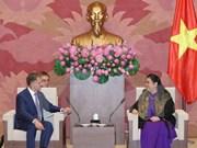 越俄加强国会交流与合作