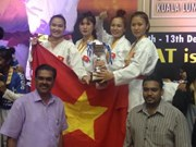 2015年马来西亚空手道公开赛:越南队夺得5枚金牌