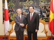 越南公安部部长陈大光会见日本国家警察代表团