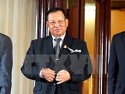 柬埔寨参议院主席赛宗开始对越进行正式访问