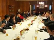 河内市人民议会主席阮氏碧玉率团访问捷克