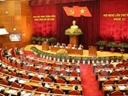 越共十一届中央委员会第十三次全体会议第三天
