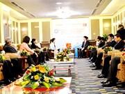 广宁省领导礼节性会见中国广西壮族自治区政协副主席磨长英