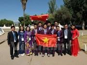 第12届国际青少年科学奥赛越南六名选手均获奖